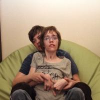 Z mamą w nowym fotelu